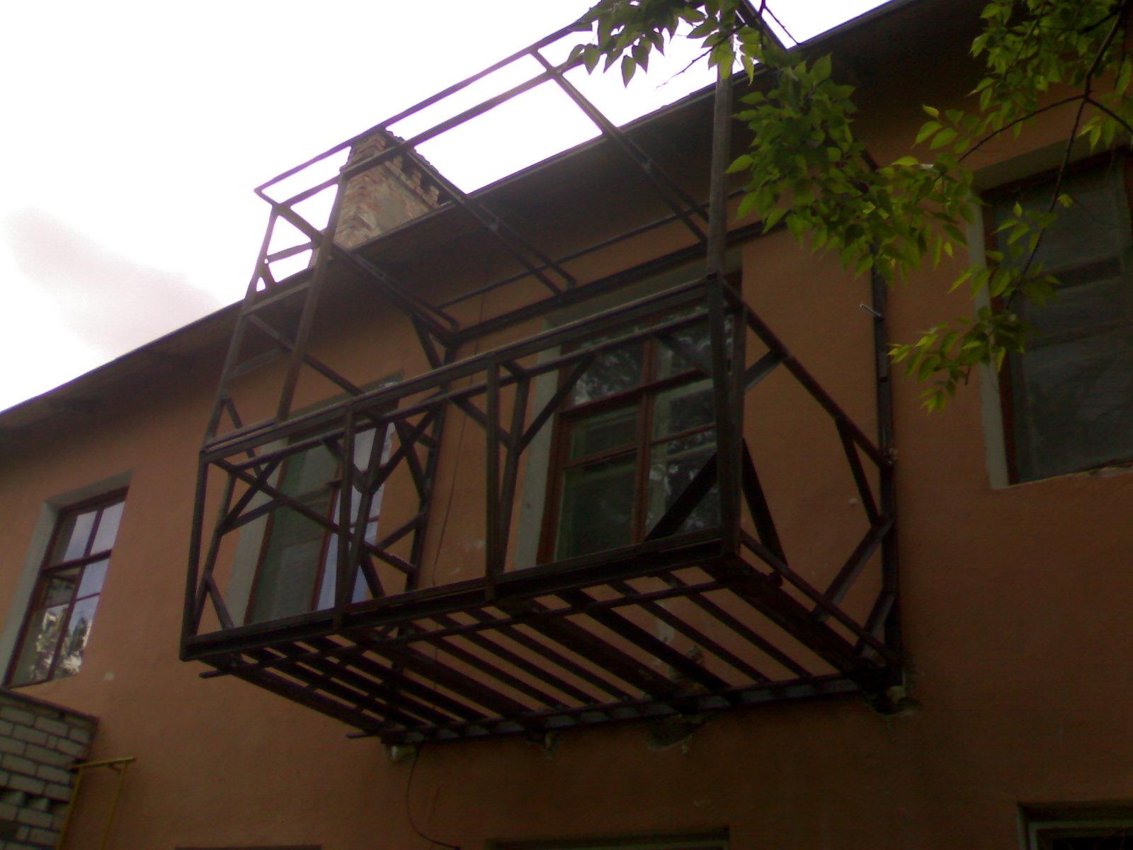 Бельцы ремонт расширение аварийных балконов под ключ козырьк.